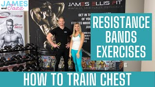 How To Train Chest || Resistance Bands Exercises || Exercise Demonstrations || Chest || Push Ups