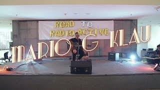 Mario G Klau Tak Selamanya Indah LIVE on Road to Radioactive