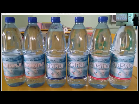 Keshe Foundation Plasma Water from Ghana clip - Process Diabetes and High Blood Pressure