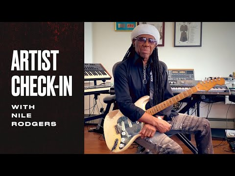 "Nile Rodgers Tells The Story of ""Let's Dance""   Fender Artist Check-Ins   Fender"