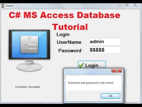 read write access database c tutorial