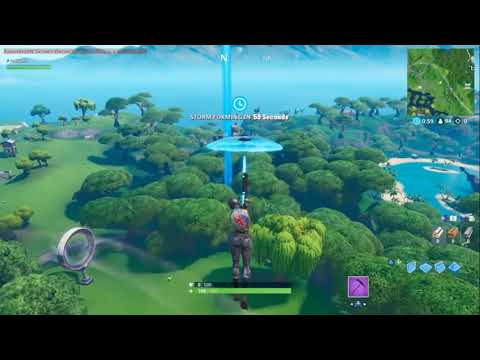 Forbyte challenge #47- find between a reboot van, crashed battle bus and pirate camp - FORTNITE
