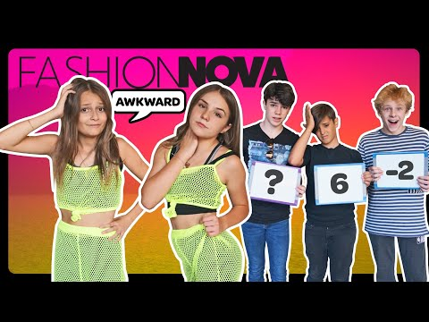 My Crush REACTS to my FASHION NOVA Outfits **FUNNY CHALLENGE** 🤣  Sophie Fergi Piper Rockelle