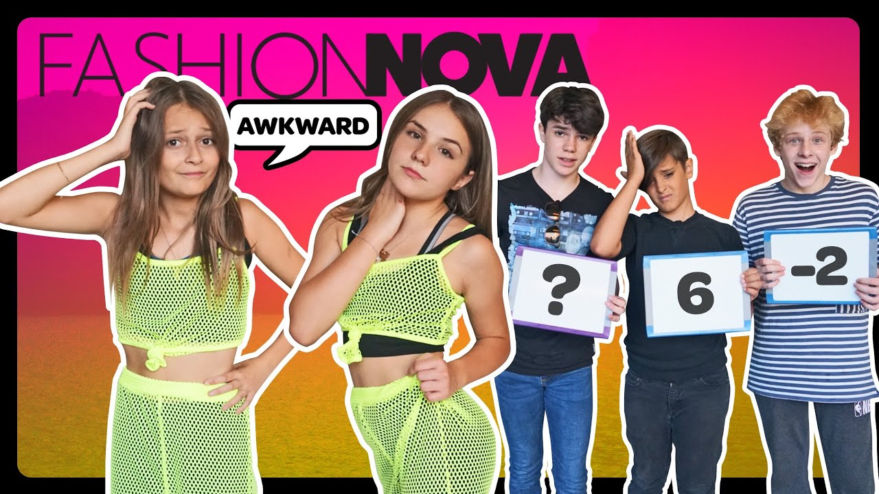 My Crush REACTS to my FASHION NOVA Outfits **FUNNY CHALLENGE** ????| Sophie Fergi Piper Rockelle