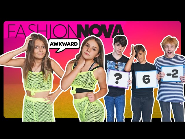 My Crush REACTS to my FASHION NOVA Outfits **FUNNY CHALLENGE**