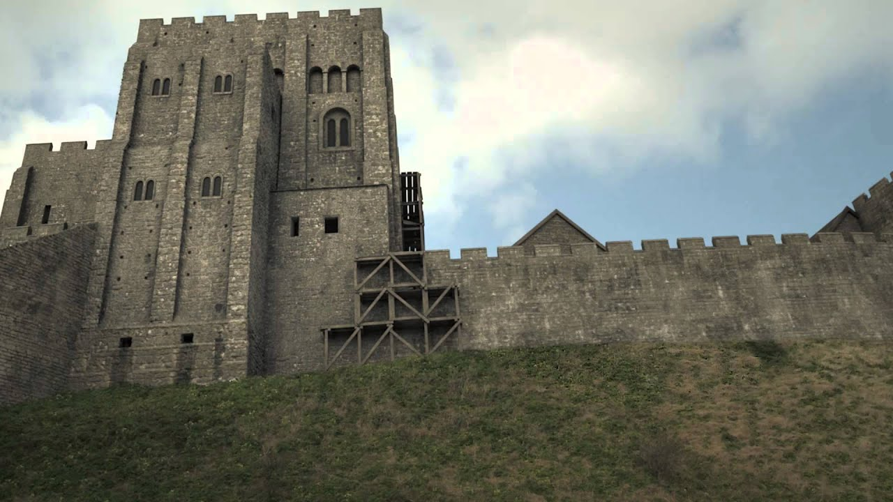 586196b061 Corfe Castle - 3D Historical Reconstruction - YouTube