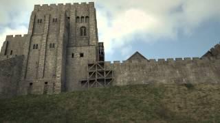 Corfe Castle - 3D Historical Reconstruction