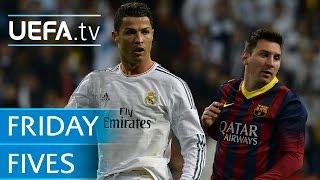Barcelona v Real Madrid: 5