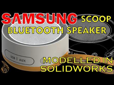SolidWorks   Samsung Scoop Bluetooth Speaker