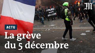 Grève du 5 décembre 2019 : les manifestations massives en images