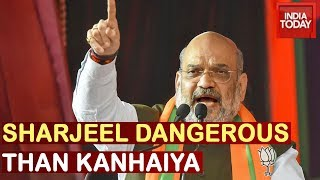 Amit Shah Says Sharjeel Imam More Dangerous Than Kanhaiya Kumar