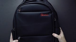 Slim Lightweight Laptop Backpack from Vitalismo