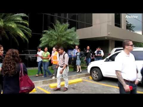 Sismo sacude el Pacífico de Nicaragua