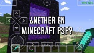 ¿Existe el Nether en Minecraft PSP Edition? | luigi2498