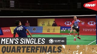 YONEX Thailand Open | Day 4: Rasmus Gemke (DEN) vs. Anthony Sinisuka Ginting (INA) [5]