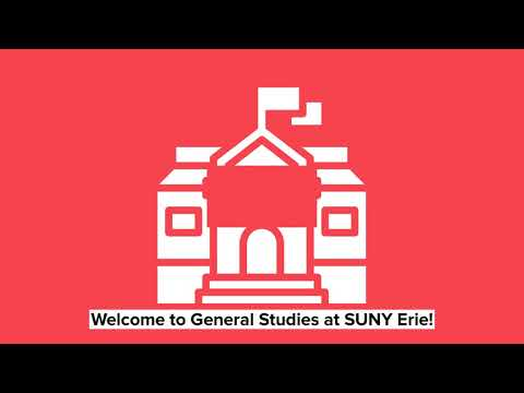 SUNY Erie Community College General Studies Overview