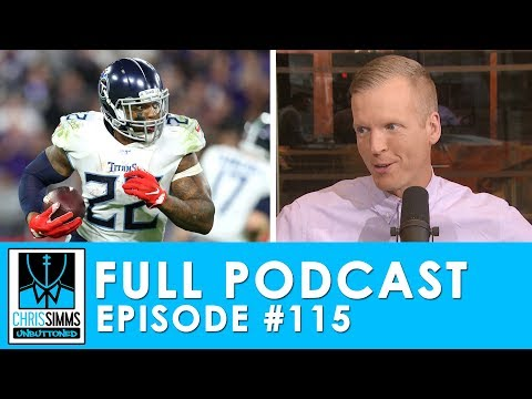 Divisional Recap: Would you rather tackle Derrick Henry or.. | Chris Simms Unbuttoned (Ep. 115 FULL)