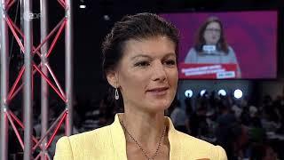 Sahra Wagenknecht zum Thema Flüchtlingspolitik