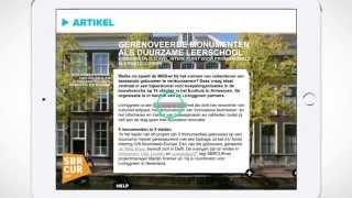 SBRCURnet Magazine - iPad & Android tablet app