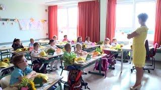 Einschulung in der Schule am Inselsee