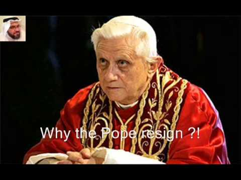 The truth behind resignation of Pope Benedict XVI ... by Esam Mudeer 2/3