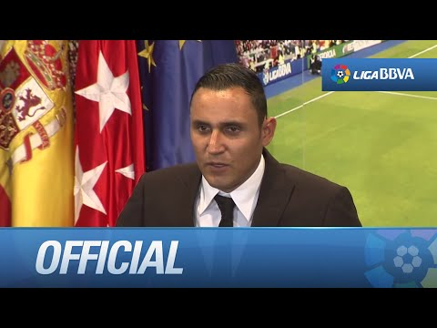 Keylor Navas signs for Real Madrid