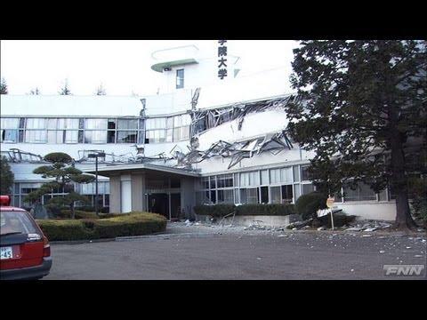 地震直後の福島市 [震災当日]