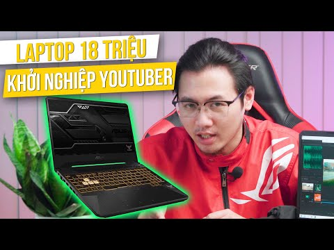REVIEW Laptop Asus SIÊU RẺ Để Làm Video Game Trên Youtube, Chỉ 18 Triệu - AMD Ryzen 5 3550H