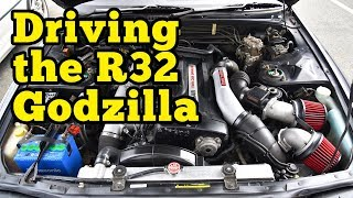homepage tile video photo for Driving the R32 Godzilla Skyline R32 GTR