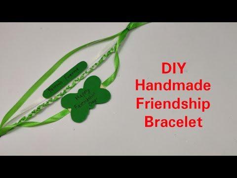 DIY Friendship Bracelets: Friendship Band for Friendship Day 2019,How to make Band/Bracelet at Home