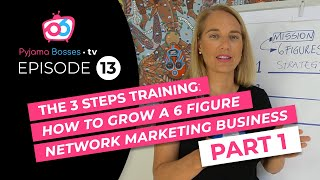 Gambar cover Network Marketing Training-3 Steps to 6-Figure income-Part1