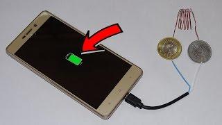 10 रुपये के सिक्के से मोबाइल चार्जर कैसे बनाते है How To Make Charger Using 10 Rupees Coin IN Hindi