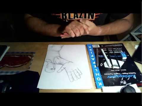 Interactive YouTube Art Exchange - The Hand