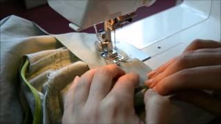 Comment coudre le col - Sew-Along Carme
