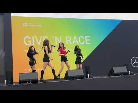 [FANCAM/직캠] 180527 Apink 에이핑크 - Give N Race Mercedes Benz Event- Five