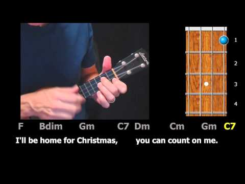 I'll Be Home For Christmas - Ukulele Play-Along