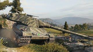 WoT AMX M4 mle 54 8164 DMG with Big Gun - Nebelburg