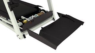 Removing the Motor Hood - Treadmill