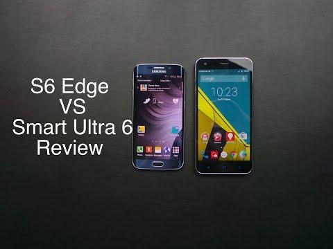 Samsung Galaxy S6 Edge vs Vodafone Smart Ultra 6