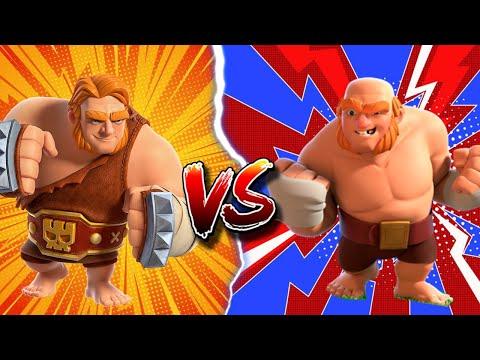 100 Super Giant VS 100 Boxer Giant   Clash Of Clans