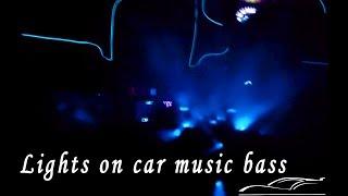 DIY Car into a Club 🎵 | Led Music Bass Lights