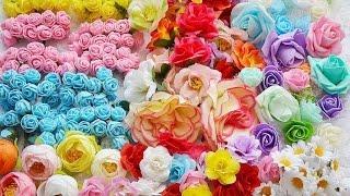 Мой большой заказ цветов с Aliexspress. Видеообзор(, 2017-01-06T14:19:40.000Z)