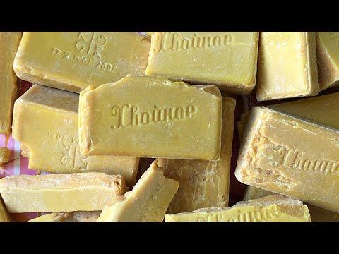 Советское ХВОЙНОЕ очень сухое мыло   ASMR Soap Carving (NO TALKING)   Relaxing Sounds