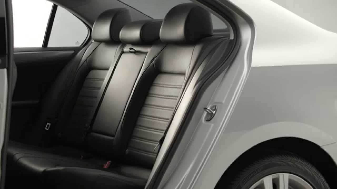 2015 volkswagen jetta 60 40 split folding rear seat youtube