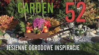 GARDEN DESIGN (52) - Jesień w ogrodzie - Okrywamy róże - Niezapominajki na wiosnę