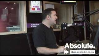 Ricky Gervais on the Breakfast show