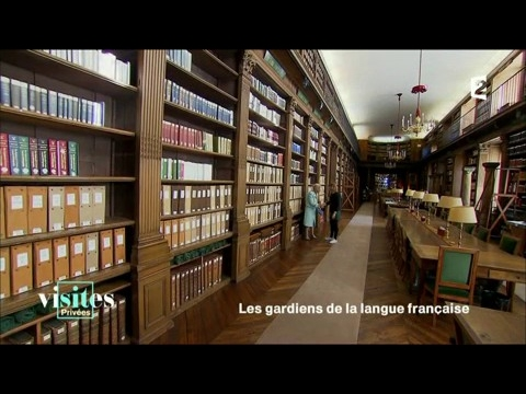 Les coulisses de l'Académie française - Visites privées
