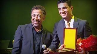 محمد عساف و تكريمه من طرف الشاب خالد  Mohammed Assaf & Cheb Khaled