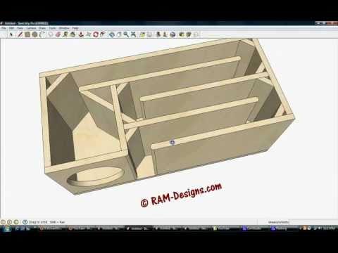 Type r 500wrms new sub box doovi for L ported sub box design