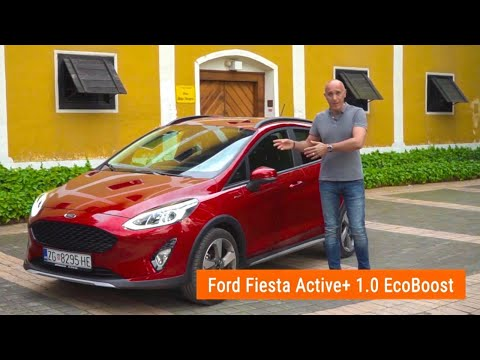 "Može li Hatchback biti ""Off Roader""? - Ford Fiesta Active - testirao Mato Pavličević"